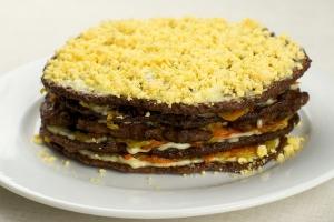 Печеночный торт рецепт