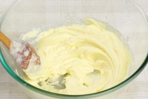 Заварной крем рецепт