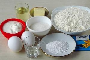 Рецепт хворост