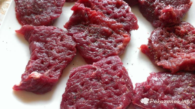 Медальоны из говядины рецепт простой