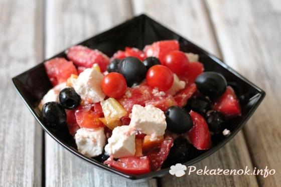 Вкусные салатики с рецептом и