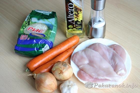 Как приготовить плов из курицы