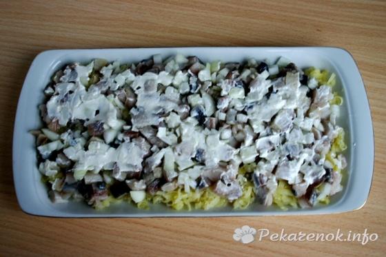 Рецепт селедки под шубой пошаговый