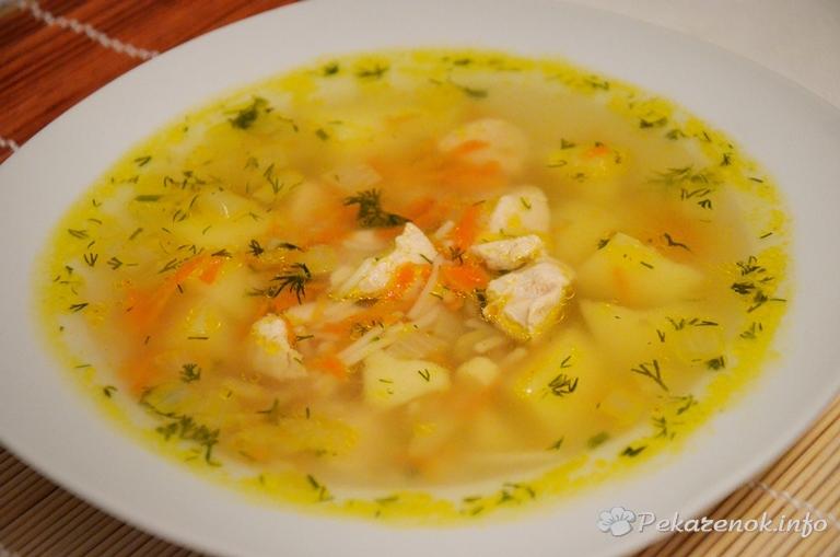 готовка куриноно супа