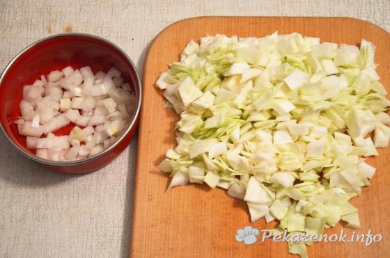 Пошаговый рецепт пирожков с капустой