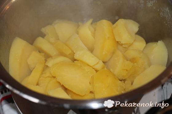Нежное картофельное пюре со сливками