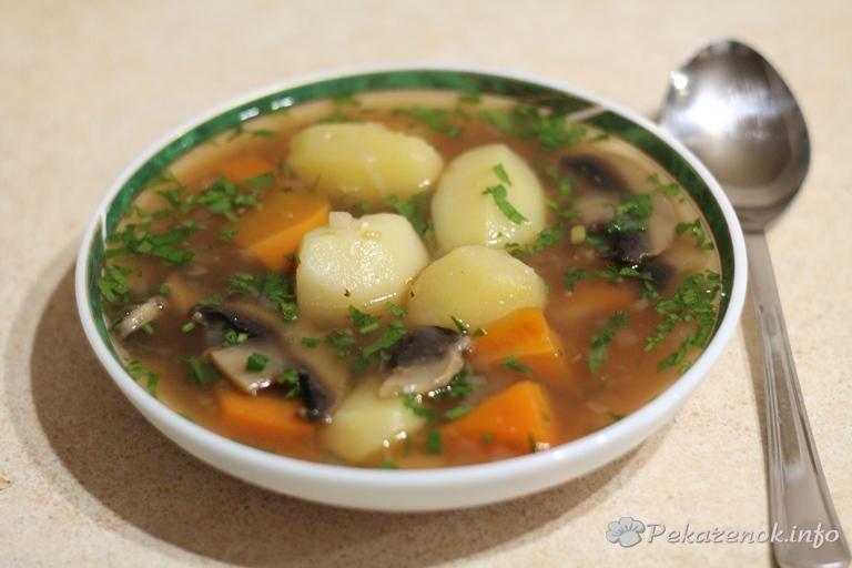 Легкий суп из говядины рецепты с фото