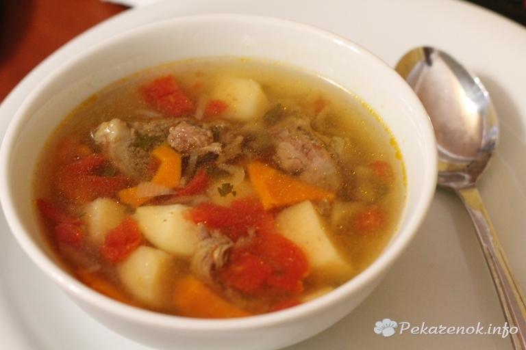 вермишелевый суп из говядины рецепты