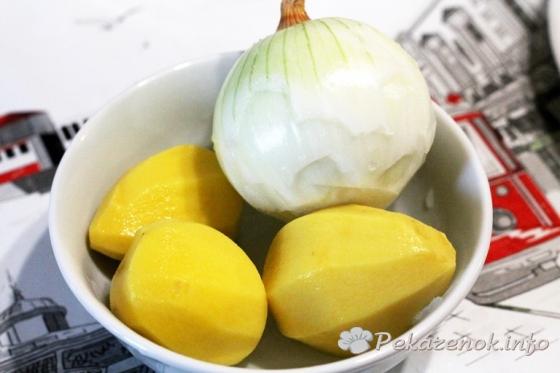 Ханум с картофелем
