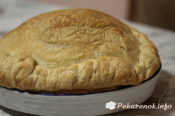 Пирог с яйцом