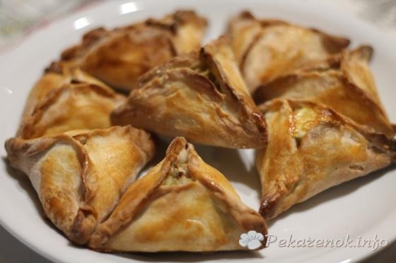 Пирожки с бараниной и картофелем
